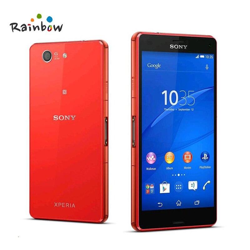 Sony Xperia Z3 компактный Оригинал GSM 4 г Android-смартфон Quad-Core 2 ГБ Оперативная память 16 ГБ хранения 4,6 WI-FI gps 2600 мАч