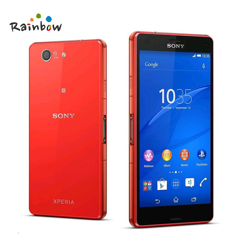Sony Xperia Z3 Kompakte Original Unlocked GSM 4g Android Smartphone Quad-Core 2 gb RAM 16 gb Speicher 4,6