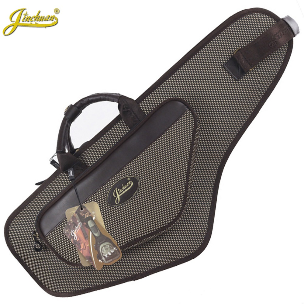 New luxury professional portable durable alto saxophone bag B sax gig case waterproof backpack soft padded strap free shipping 90cm professional portable bamboo chinese dizi flute bag gig soft case design concert cover backpack adjustable shoulder strap