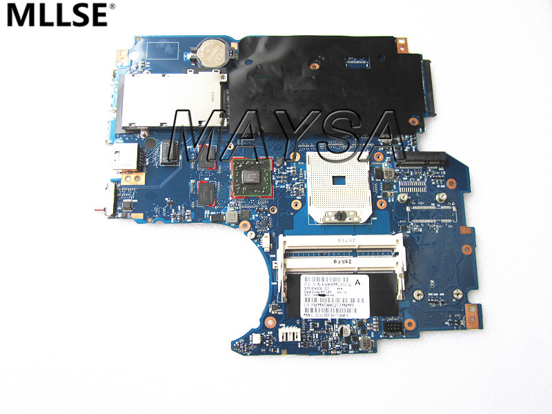 654306-001 Fit For HP probook 4535S series laptop motherboard 1GB DDR3 Socket SF1, 100% WORKING 744020 001 fit for hp probook 650 g1 series laptop motherboard 744020 501 744020 601 6050a2566301 mb a04