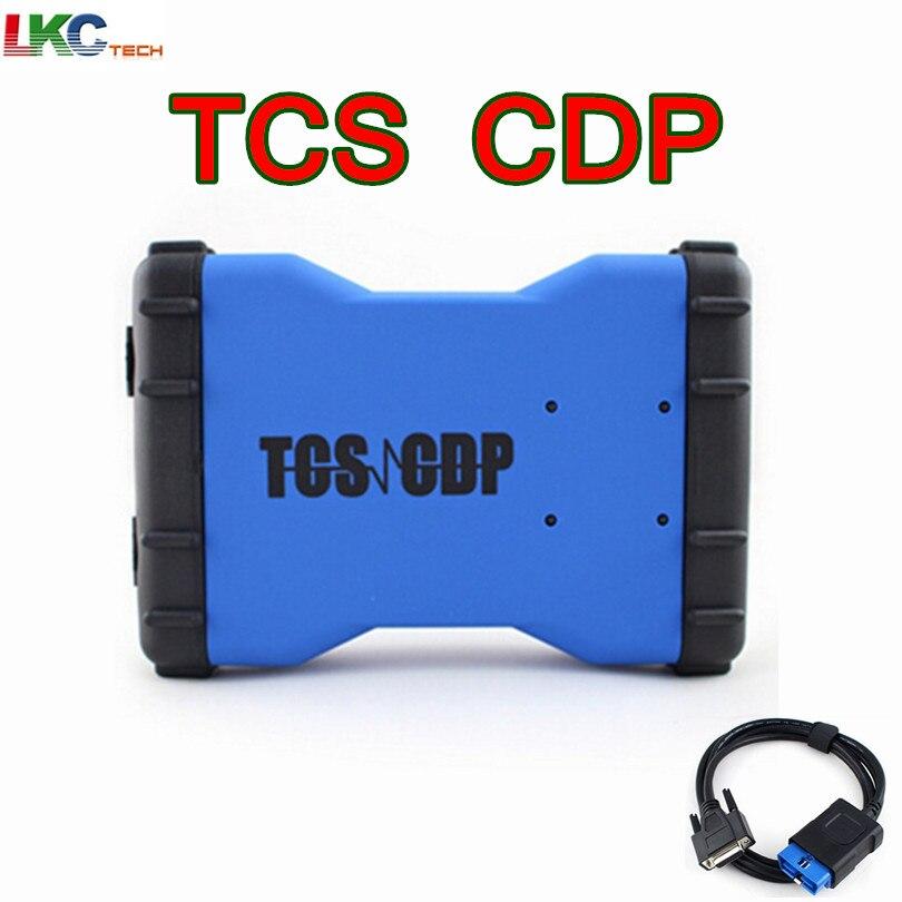 Цена за 2014 R2 или 2015 R3 с KEYGEN TCS CDP PRO с Bluetooth новый VCI Поддержка мультибрендовый Автомобили/ грузовики Авто диагностический сканер