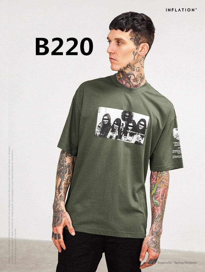 2018 Новое поступление Модная Мужская футболка из 100% хлопка bouchra B220 2 шт./компл.