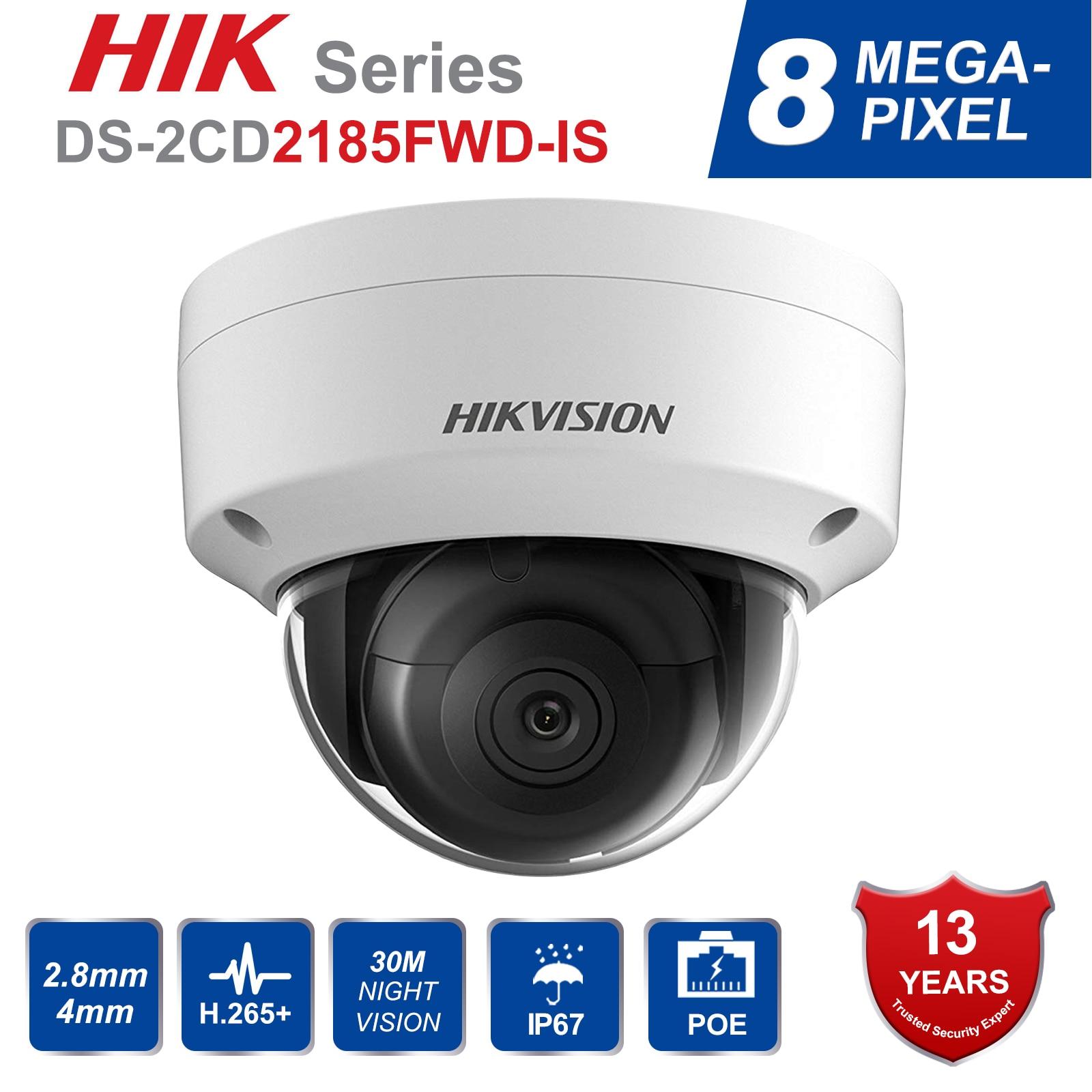 e01e9f8b2e3 Hik DS 2CD2185FWD IS 8MP Outdoor Dome ip Camera H.265 Updatable CCTV ...