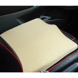 Image 3 - Capas de assento de carro para aumento de respiração, acessórios interiores, espuma automotiva, tapetes protetores de tamanho universal