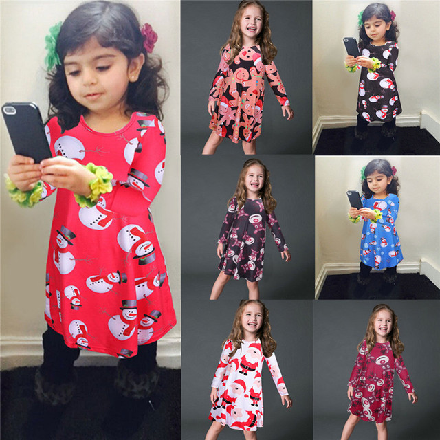 fdb5527f4131f US $7.97 43% OFF|4XL 5XL Plus Size Mother Daughter Dress Christmas Vestidos  Mommy And Me Clothes Family Look Matching Pajamas Mom Girls Dresses-in ...