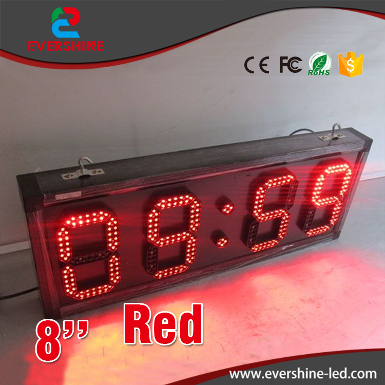led digital screens led time display board 8'' red suspension type  led countdown timer billboard display lc171w03 b4k1 lcd display screens