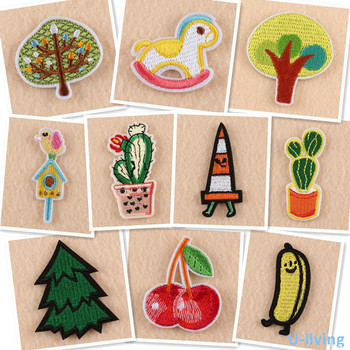 1pcs Mix fashion Patches for Clothing Iron on Embroidered Sew Applique Cute Patch Fabric Badge Garment DIY Apparel Accessories image