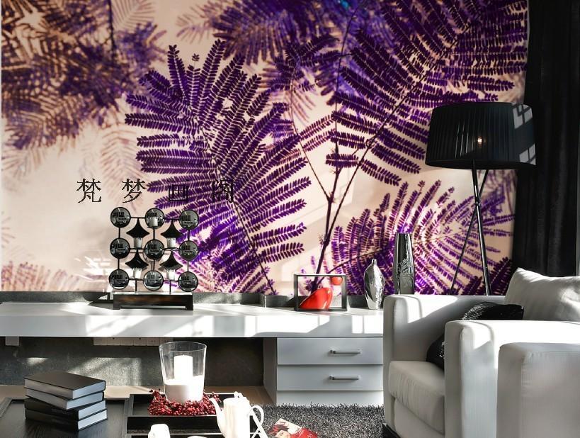 Slaapkamer Paars Grijs : Kopen wholesale paars slaapkamer behang uit ...