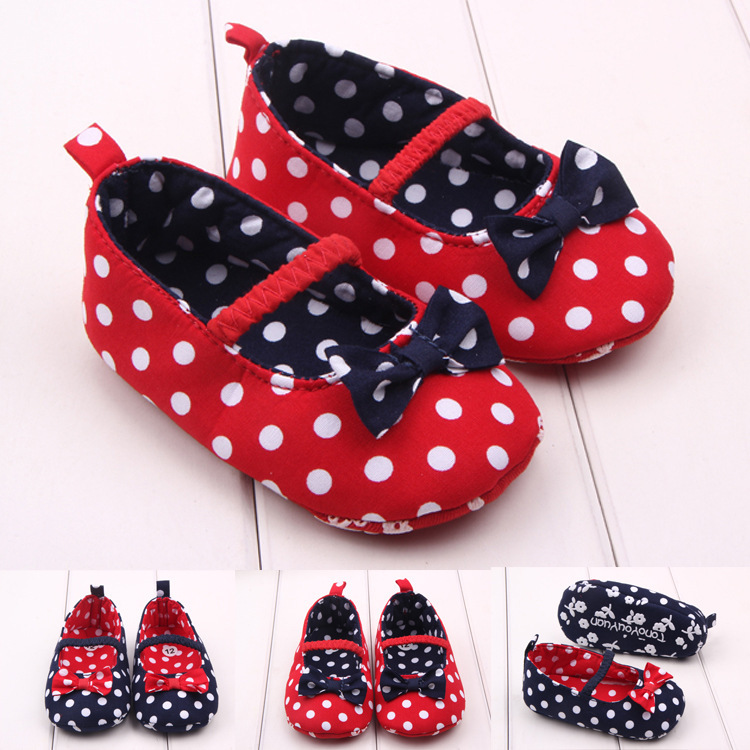 Autumn Origin Bow Baby Shoe Study Walking Shoes Baby Shoe 2118