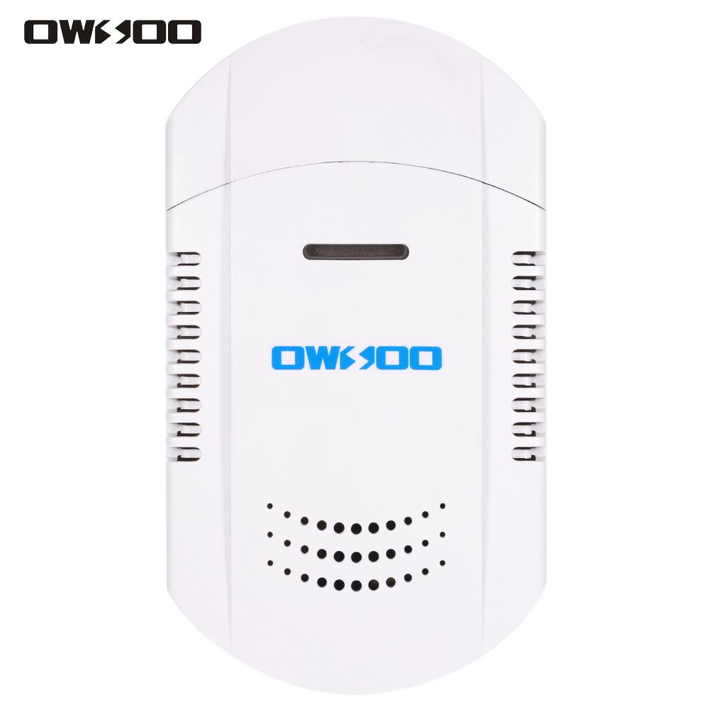 owsoo 433mhz plug in combustible gas leakage detector led