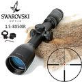 Имитация Swarovskl 1 5-8x50 IRZ3 прицел F15 красная точка сетка охотничий прицел Сделано в Китае