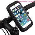 Новый Велосипед Мотоциклов Телефон Кронштейн Колыбель Водонепроницаемый Мешок чехол Для iPhone 7/7 Плюс GPS Держатель Велосипеда Открытый Велосипед мешок