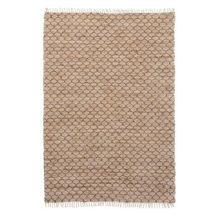 Tapis de Jute fabriqués à la main de Style nordique pour la chambre à coucher de salon tapis solides tapis de maison tapis de porte de plancher tapis de zone moderne délicat - 3