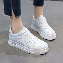 2019 Spring women platform sneakers shoes women vulcanize shoes flats female lace up white sneakers shoes for ladies women s sneakers ugly sneakers dino albat rc06 888 spring runing shoes sport shoes for female ship from russia