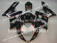 Injection molding bodywork for 2005 suzuki gsxr 1000 fairings K5 2006 GSXR 1000 fairing 05 06 glossy black HM62