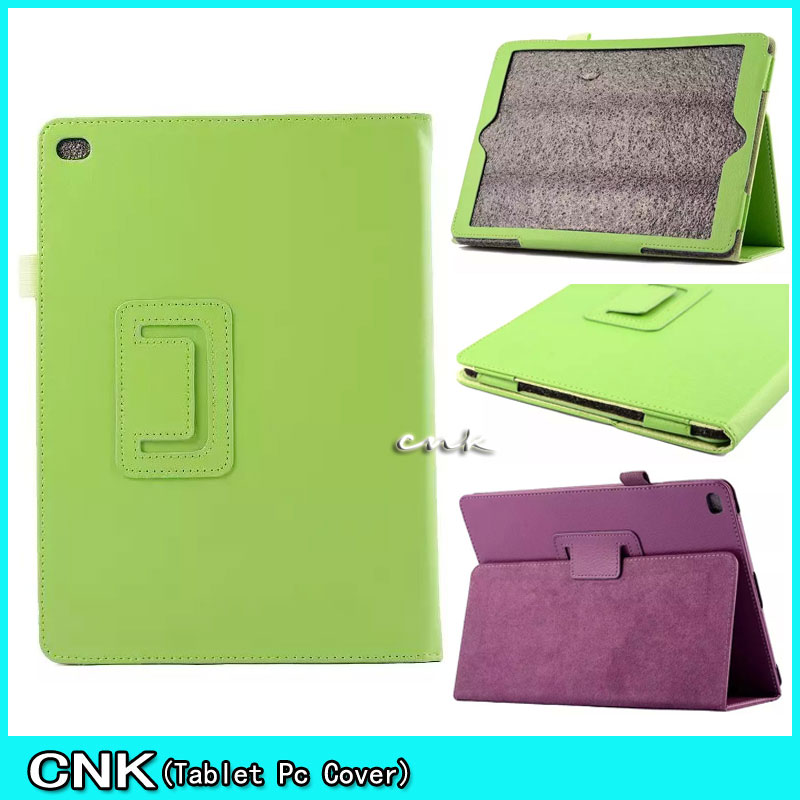Case For Apple iPad Air 2 Case Litchi Soft PU Leather Cover Auto Sleep Wake Up Cover For iPad Air 2 Case For iPad 6 Flip Cover