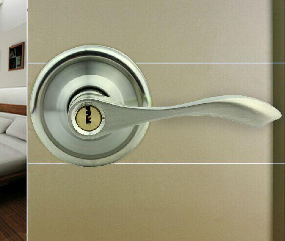 new arrival stainless steel door locks interior bedroom door