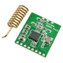 Радиопередача CC1101 часть многоканальный антенный приемопередатчик большое расстояние низкая мощность аксессуар интерфейс беспроводной модуль