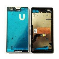Original For Sony Xperia M5 E5603 E5606 E5653 E5633 E5643 E5663 Front Frame Bezel Housing LCD