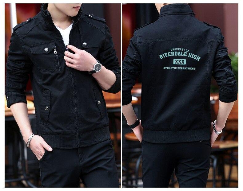 FADUN TOMMY 2018 Fashion Riverdale Tailored Jacket Kpop Warm Cool Tailored Jackett Men Women Outwear Coats