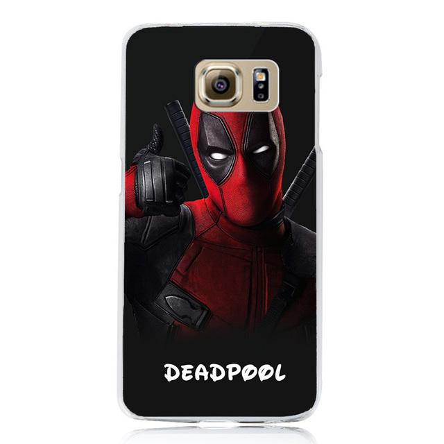 Marvel Hero Samsung Galaxy S6 S7 S7 Edge Hard Armor Cover Case