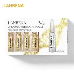 Image 2 - LANBENA suero de ampolla Facial, Retinol + Q10 + ácido hialurónico + vitamina C + antiedad, hinchazón, arrugas, suero para el cuidado de la piel