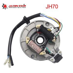 Alconstar 1 шт. Новый JH70 статор зажигания, магнитная пластина для 125 куб. См питбайка XR50 SDG SSR 107 110 125 куб. См