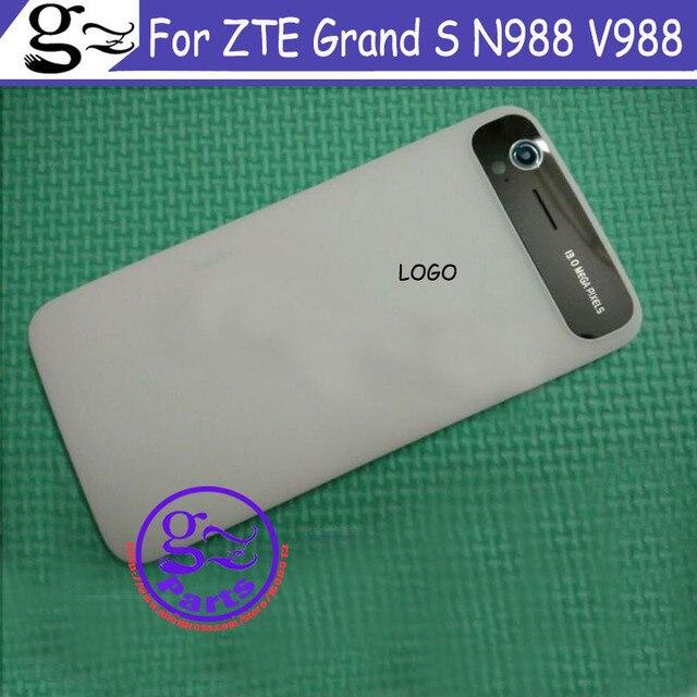 Для ZTE Grand S V988 N988 задняя крышка батарейного Отсека Чехол Мобильный телефон крышка батарейного отсека чехол для телефона + бесплатная доставка