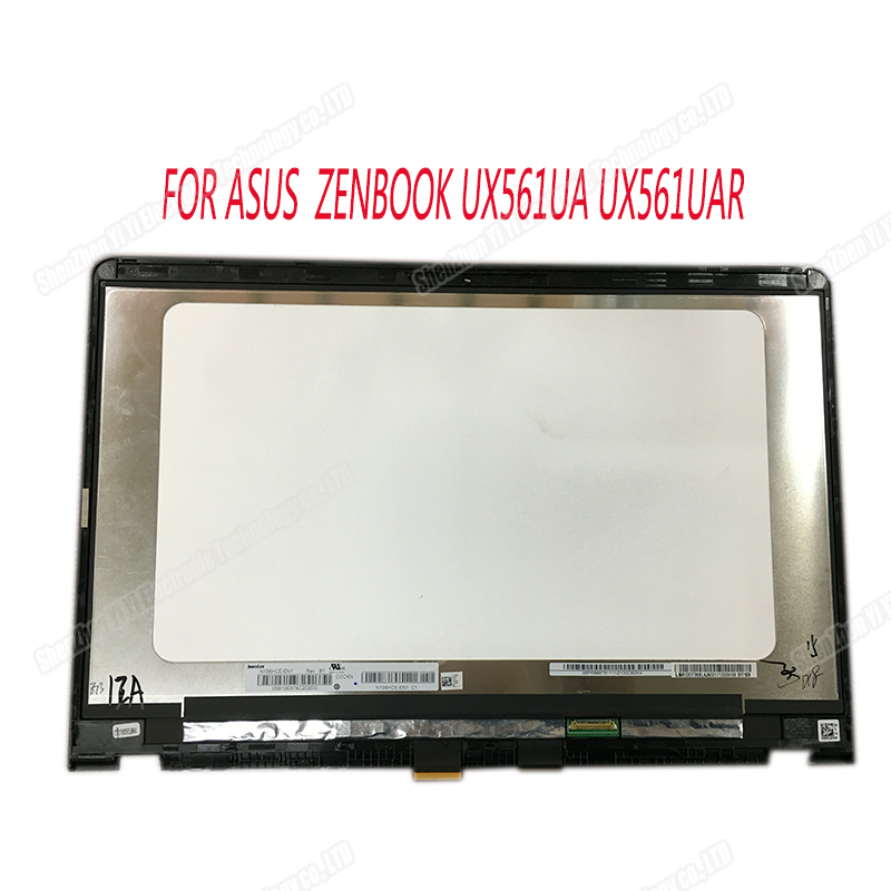 "15.6/"" FHD LCD Touch Screen Assembly For Asus UX561 UX561U UX561UA N156HCE-EN1"