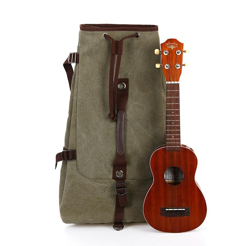 1 pcs new 21/23 inch Backpack Bag ukulele ukulele bag niko black 21 23 26 ukulele bag silver edge nylon soprano concert tenor soft case gig bag 5mm thick sponge
