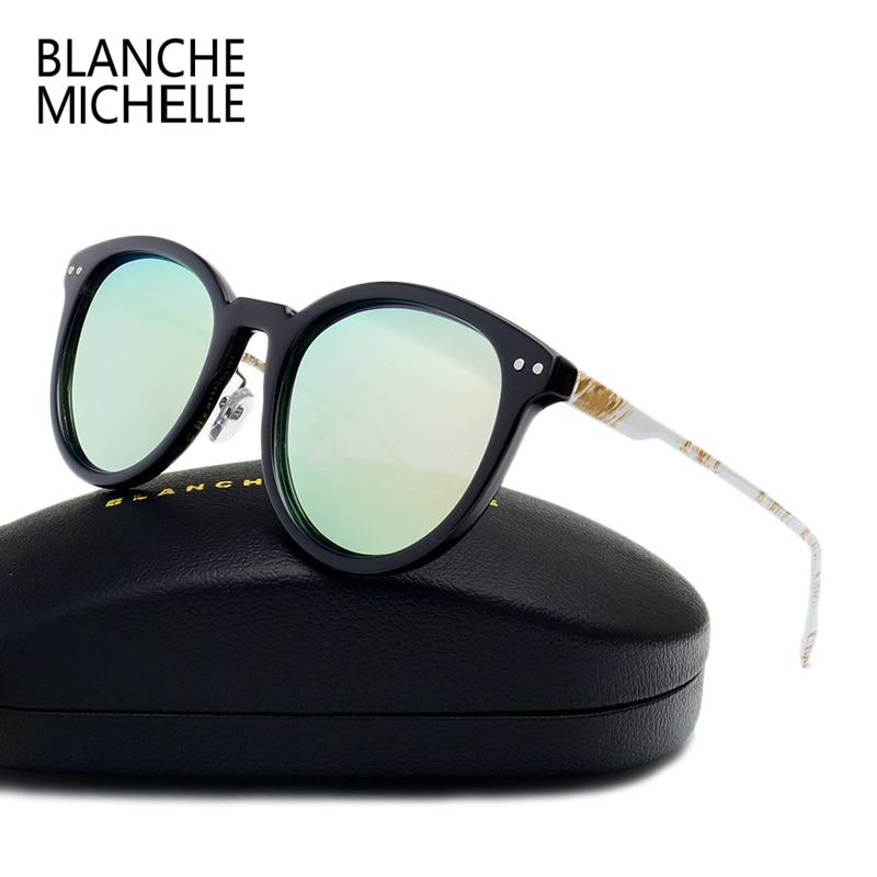font b Fashion b font High Quality Painted Metal Temple Sunglasses Women font b Polarized
