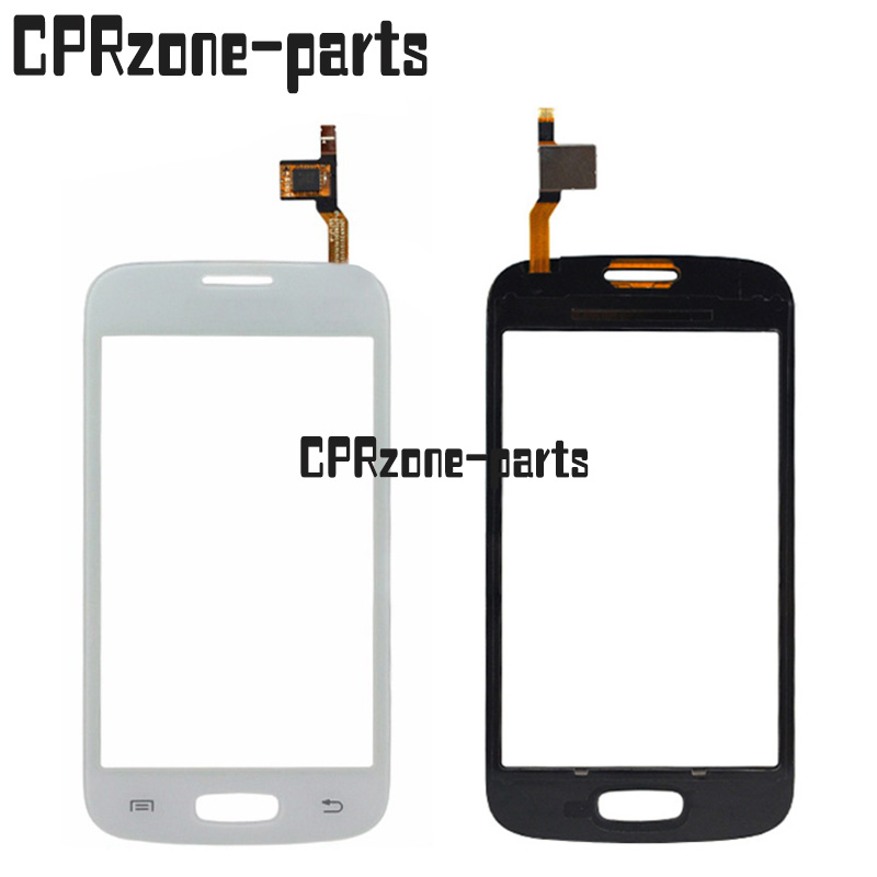 9893916243b060 100% Warranty White Touch Screen Digitizer with duos for Samsung for Galaxy  Star Pro S7262 GT-S7262 S7260 GT-S7260