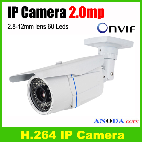 bilder für 2mp Ip-kamera 1080 p HD 2,8-12mm vario zoomobjektiv Onvif netzwerk außen IR wetterfeste überwachungskamera