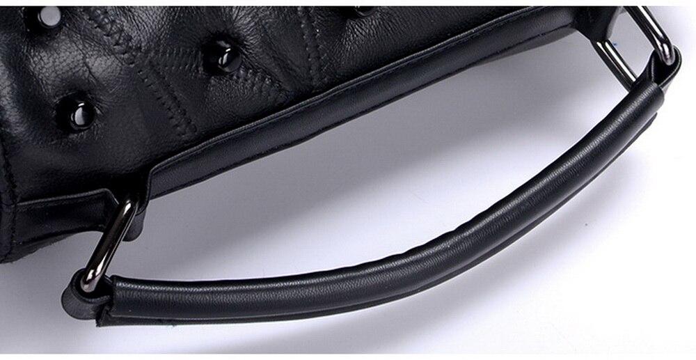 High Quality rivet shoulder bag