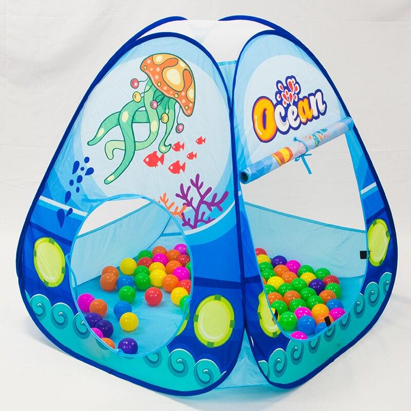 დასაკეცი საბავშვო Pool-Tube-Teepee - გარე გართობა და სპორტი - ფოტო 3