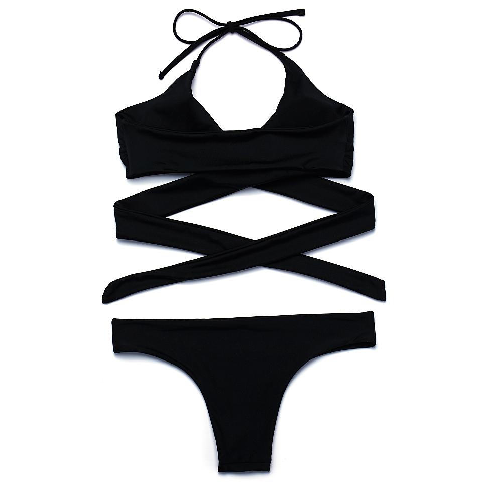 HTB1GtjoPVXXXXcSXFXXq6xXFXXX0 - FREE SHIPPING Swimsuit Sexy Halter Swimwear Women Bathing Suit Push Up Strappy Bikini Set JKP268