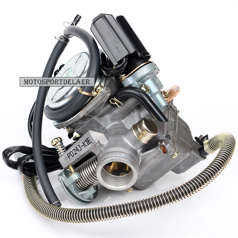 US $16 79 23% OFF|PD24J K1E 24mm Carburetor for Carb GY6 125cc 150cc ATV Go  Kart Moped Scooter-in Carburetor from Automobiles & Motorcycles on