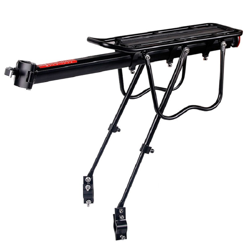 цена на MTB Bicycle Rear Rack Aluminum Alloy Mountain Bike Road Cycling Luggage Carrier Install Component Accessories