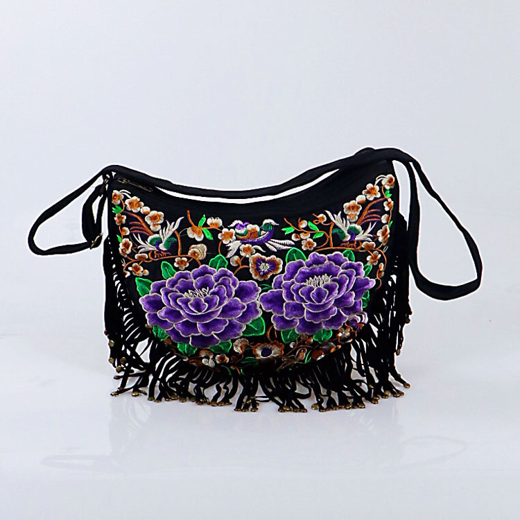 women bag purple