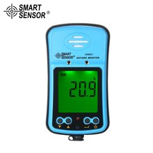 цена на SMART SENSOR Professional Industrial Automotive Oxygen Meter digital O2 Gas Tester Monitor Detector Sound Light Vibration Alarm