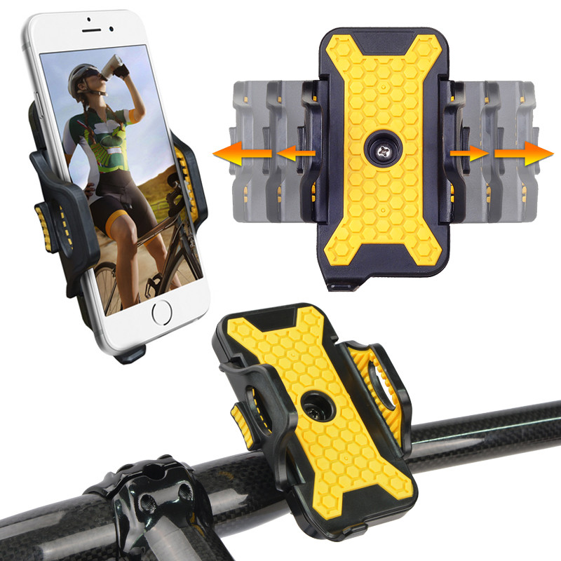 Bicycle <font><b>Bike</b></font> <font><b>Phone</b></font> <font><b>Holder</b></font> Smartphone Gps Accessory Mount Stand Movil For <font><b>Samsung</b></font> Galaxy <font><b>S9</b></font> S8 S7 For iphone se 5 xs 8 7 6 plus image