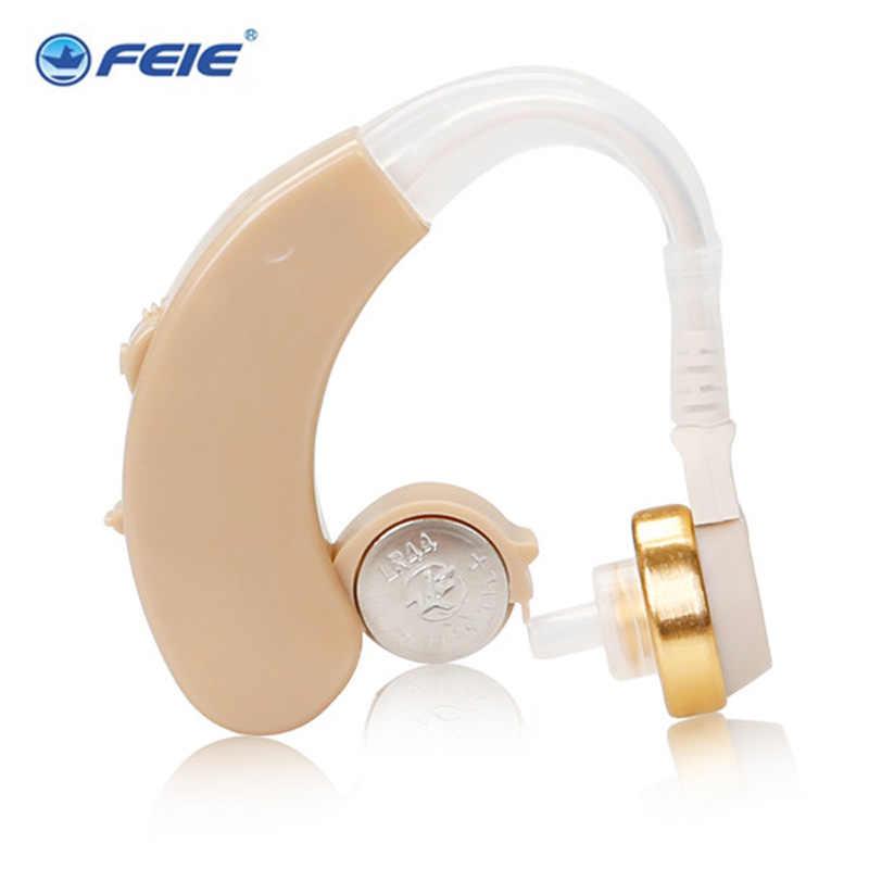 Giá rẻ Earing Thiết Bị Trợ Thính BTE S-138 Khuếch Đại Tốt Nhất Điếc aid Behind The Ear Âm Thanh Tăng Cường cho Người Lớn Thính giảm cân