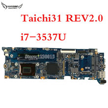 Taichi31 for ASUS Laptop Motherboard Taichi31 REV2.0 i7-3537 Processor Intel QS77 Chipest 4G On Board HD 4000 100% Tested