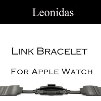 Stainless Steel Link Bracelet Band For Apple Watch Series 3 2 1 Strap For IWatch Adjustable