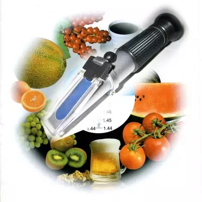 Hand held brix Honey Refractometer brix 45-82%  цены