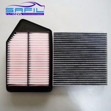 Air Filter + Cabin Filter for 2013 Honda Accord 9 2.4 oem:17220-5A2-A00 80292-SDG-W01
