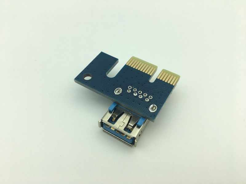 Riser Card PCI-E 1X to 16X Graphics Extension Cable Mining Extended Line USB 3.0 PCI Express Card for BTC Mining Dropshipping