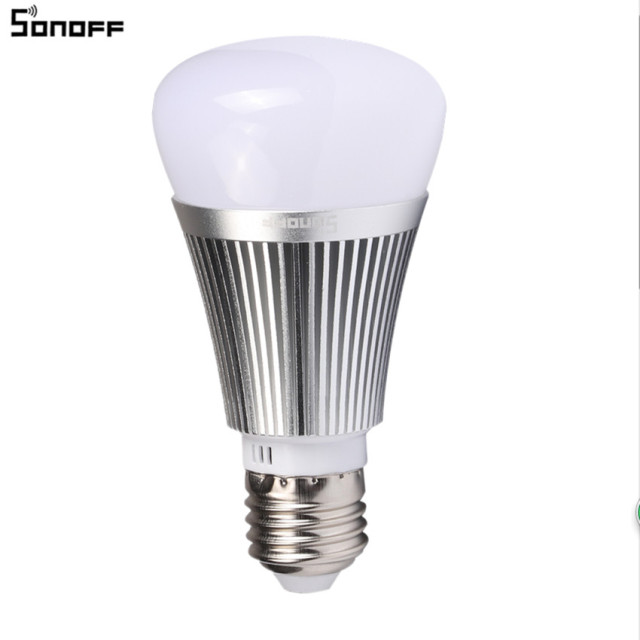 Sonoff B1 Smart Wifi Dimmable E27 LED Lamp RGB Color Light Timer Bulb Wifi  Switch Home