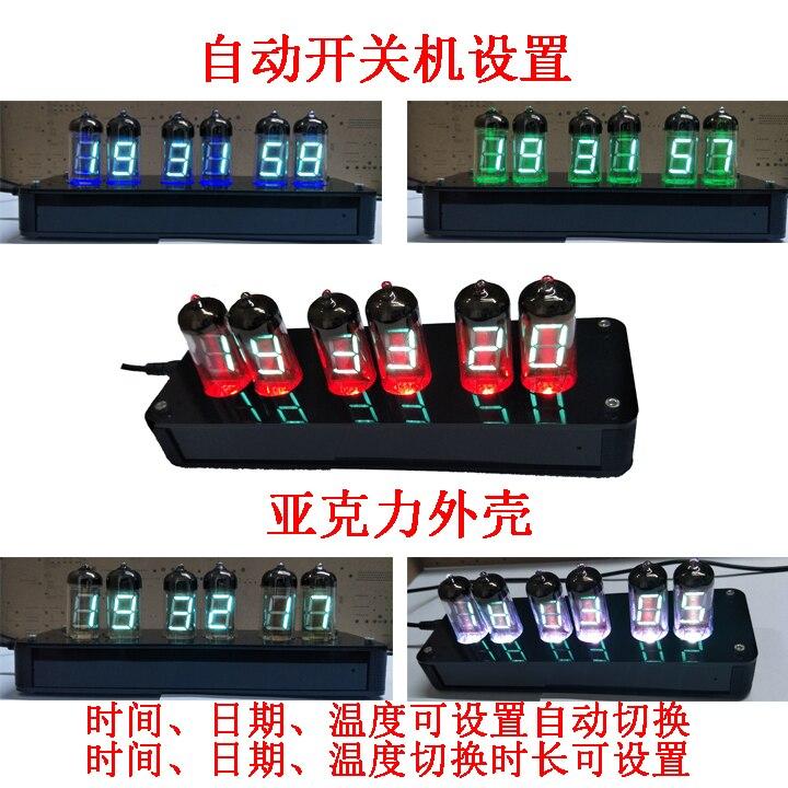 IV-11 NB-11 fluorescent tube clock DIY suite VFD vacuum fluorescent display tube fluores ...