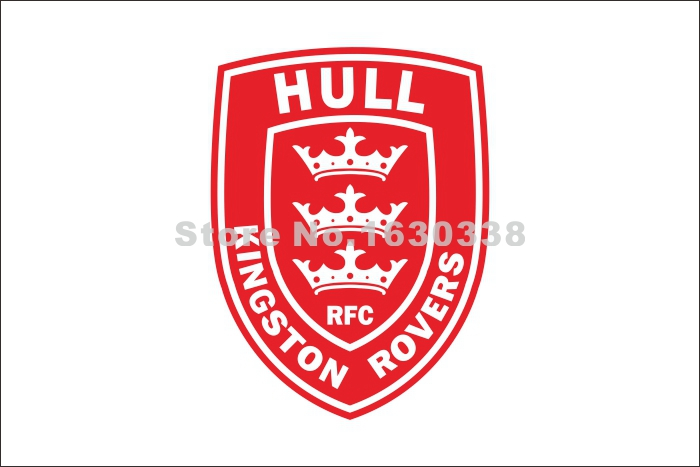 Hull Kingston Rovers Flag 3ft X 5ft Engage Rugby Super League SLE Banner Size 4 144* 96c ...